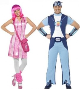 Lazytown Couples Costumes Stephanie and Sportacus  sc 1 st  Creative Halloween Costumes - Happy Holidays! & Lazytown Couples Costumes - Stephanie and Sportacus | Creative ...